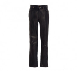 Victoria Leather Pants by Khaite