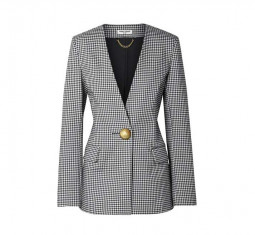 Gingham Lady Blazer by Opening Ceremony
