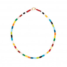 roxanne assoulin rainbow u tube necklace