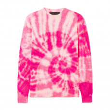 the elder statesman tie dye cashmere sweater