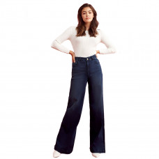 warp and weft nce wide leg noma jeans
