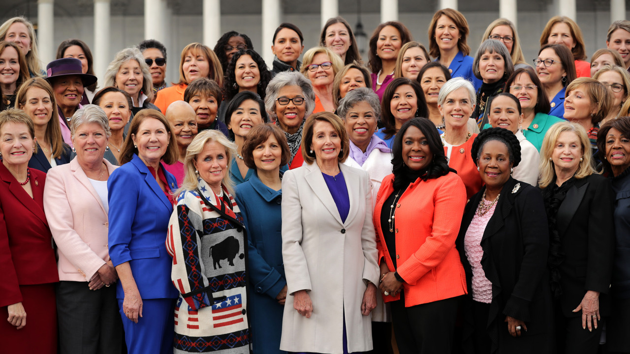 women serving congress portraits