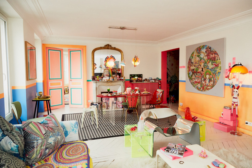 inside manish arora apartment
