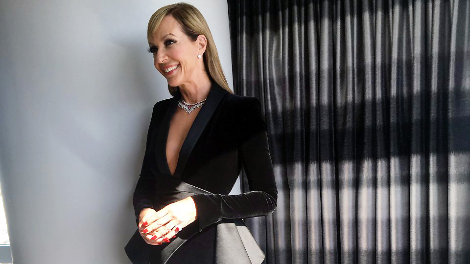 EXCLUSIVE: Getting Ready with Allison Janney for the Oscars Is Never Boring