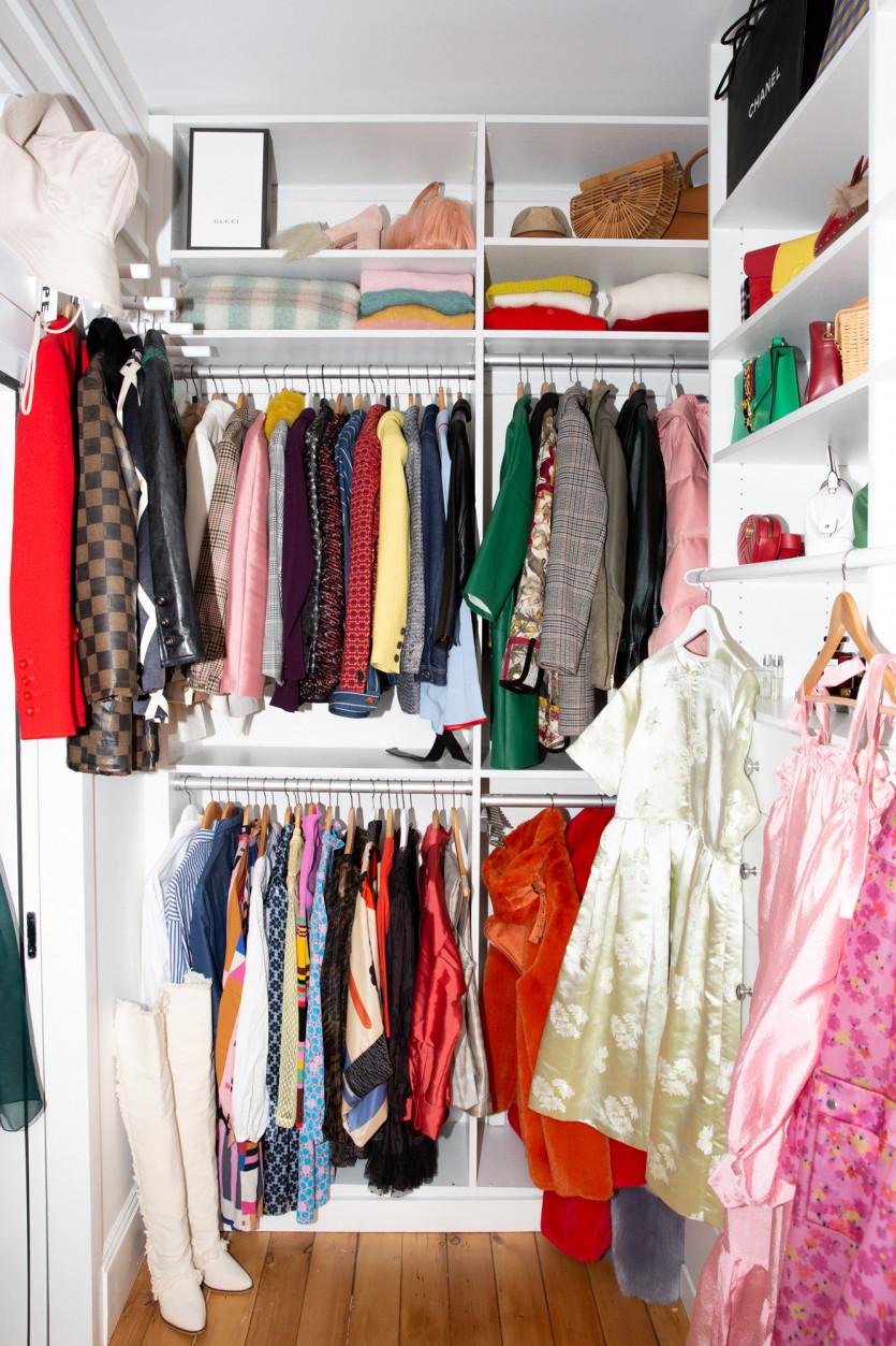 inside babba c rivera closet