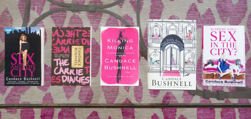 inside candace bushnell closet