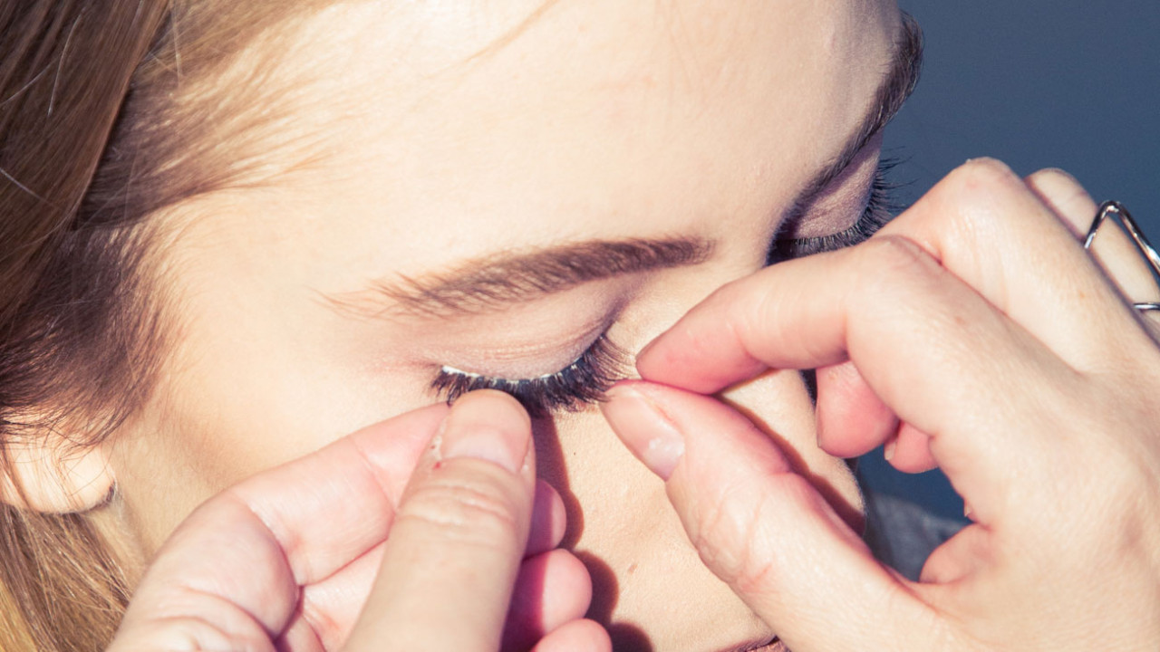 e.l.f. cosmetics false eyelashes from north korea