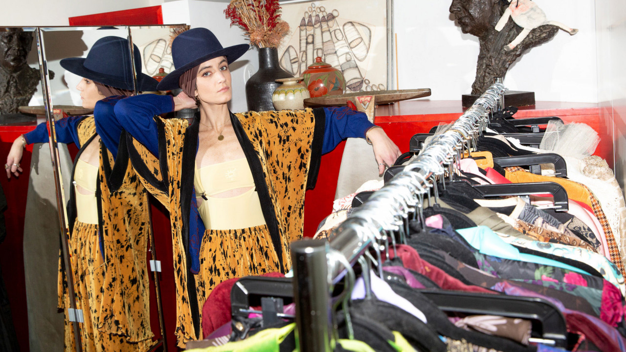 There's a *Mind-Blowing* Collection of Vintage in This Lawyer's Closet