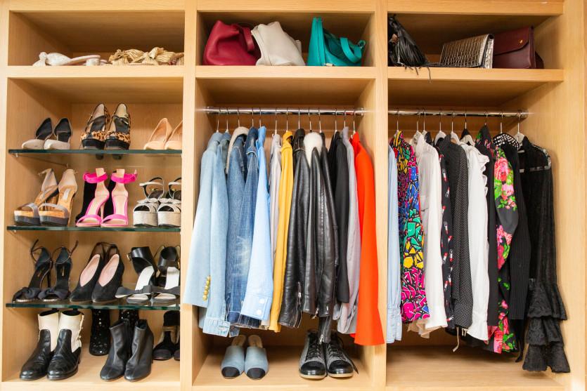 inside sari sloane closet