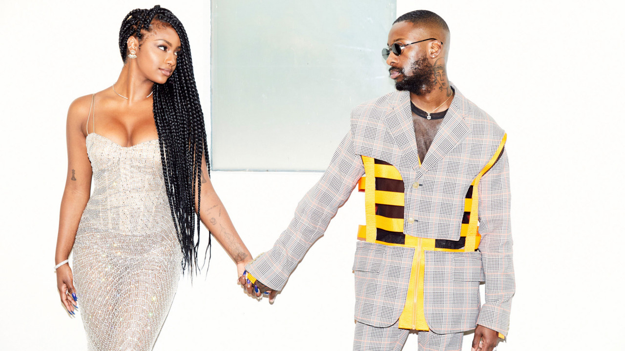Stylish Couple Alert! Getting Ready with GoldLink and Justine Skye