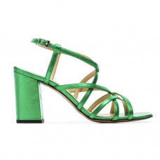 kalda green pip 45 leather sandals