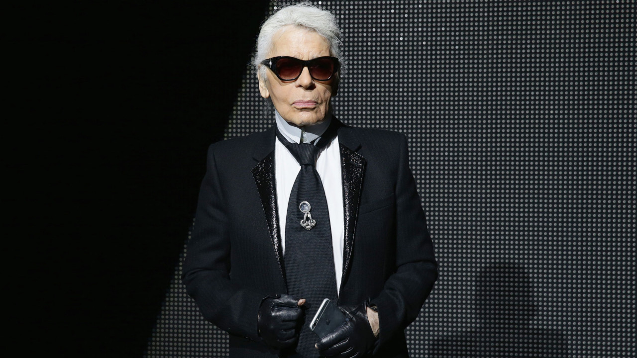 a look back on karl lagerfeld life