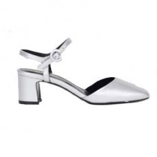 soraya sandales cuir argent