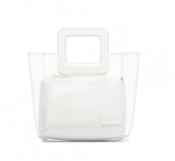 Mini Leather PVC Tote by White Shirley