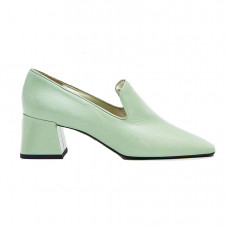 suzanne rae smoking loafer in jade