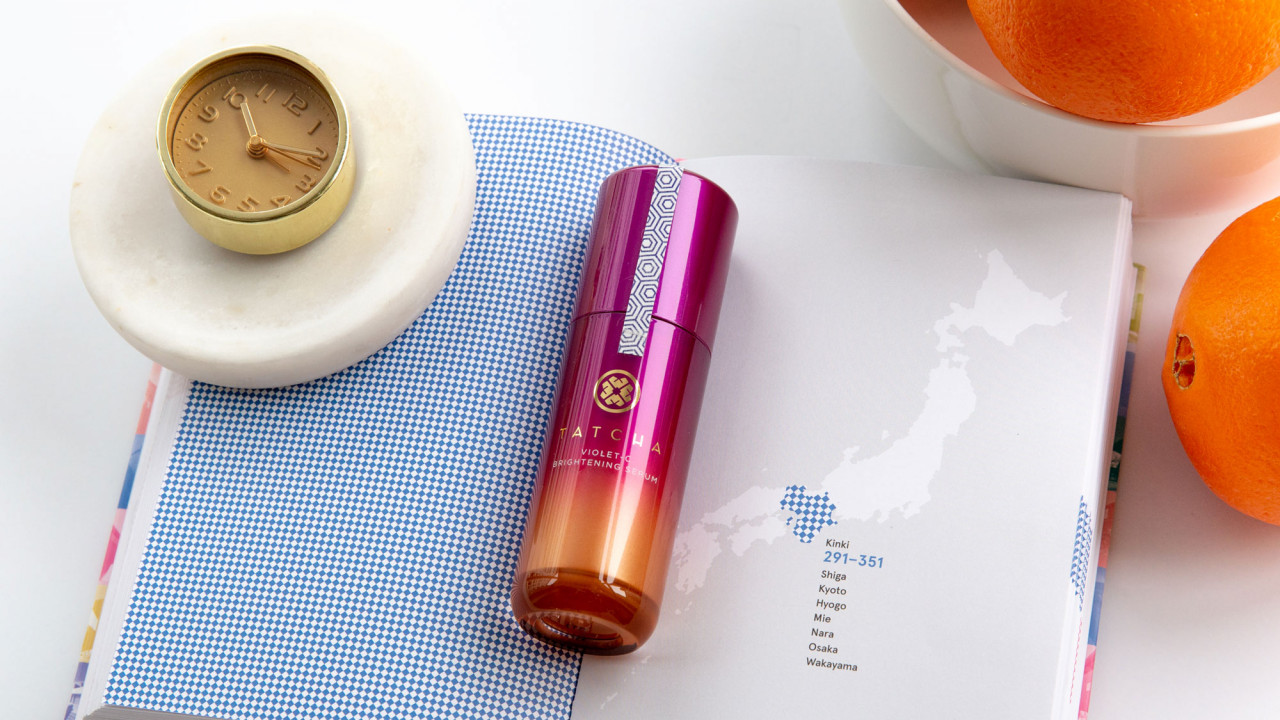 tatcha violet-c brightening serum review
