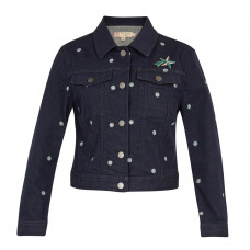 ted baker cavca embroidered denim jacket