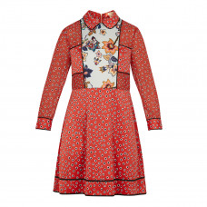 ted baker valoria floral mini dress