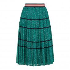 ted baker talarla floral printed skirt