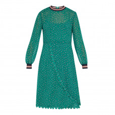 ted baker sibella floral dot wrap dress