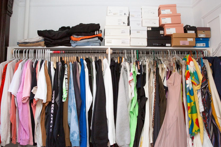 inside kai avent-deleon closet