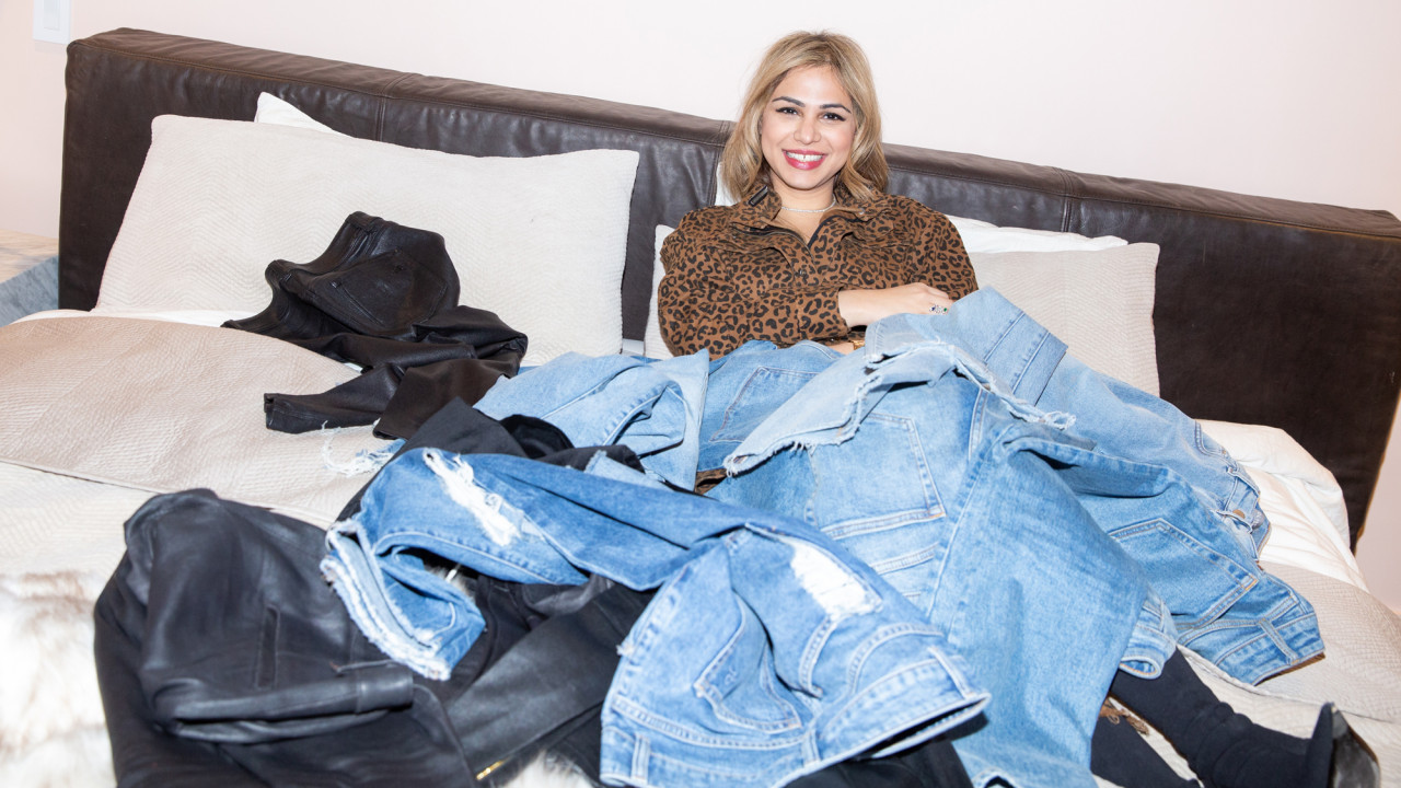 Shop All the Essentials Inspired by Sarah Ahmed's Denim-Centric Wardrobe