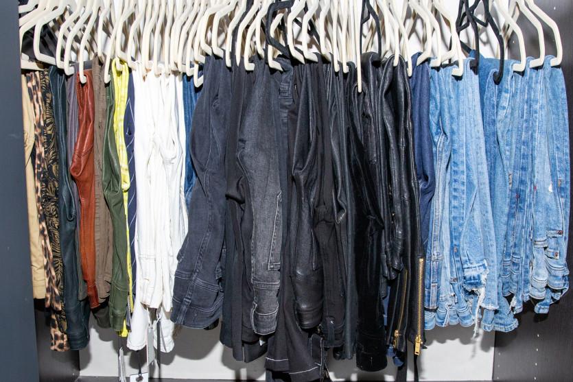 inside sarah ahmed closet