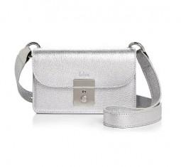 Amanda Metallic Leather Belt Bag by Behno