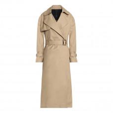 ellery illustrated woman cotton gabardine trench coat