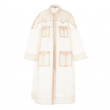 ganni hazel trench coat