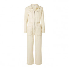 l f markey danny cotton blend drill jumpsuit