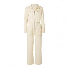 l f markey danny cotton blend drill jumpsuit