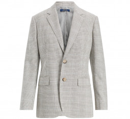 Glen Plaid Tweed Blazer by Polo Ralph Lauren