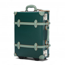 steamline luggage the artiste evergreen carryon