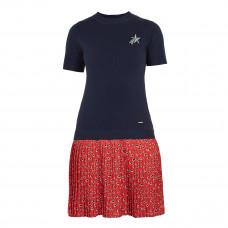 ted baker gememma woven knit floral dress