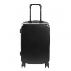 the daily edit black suitcase