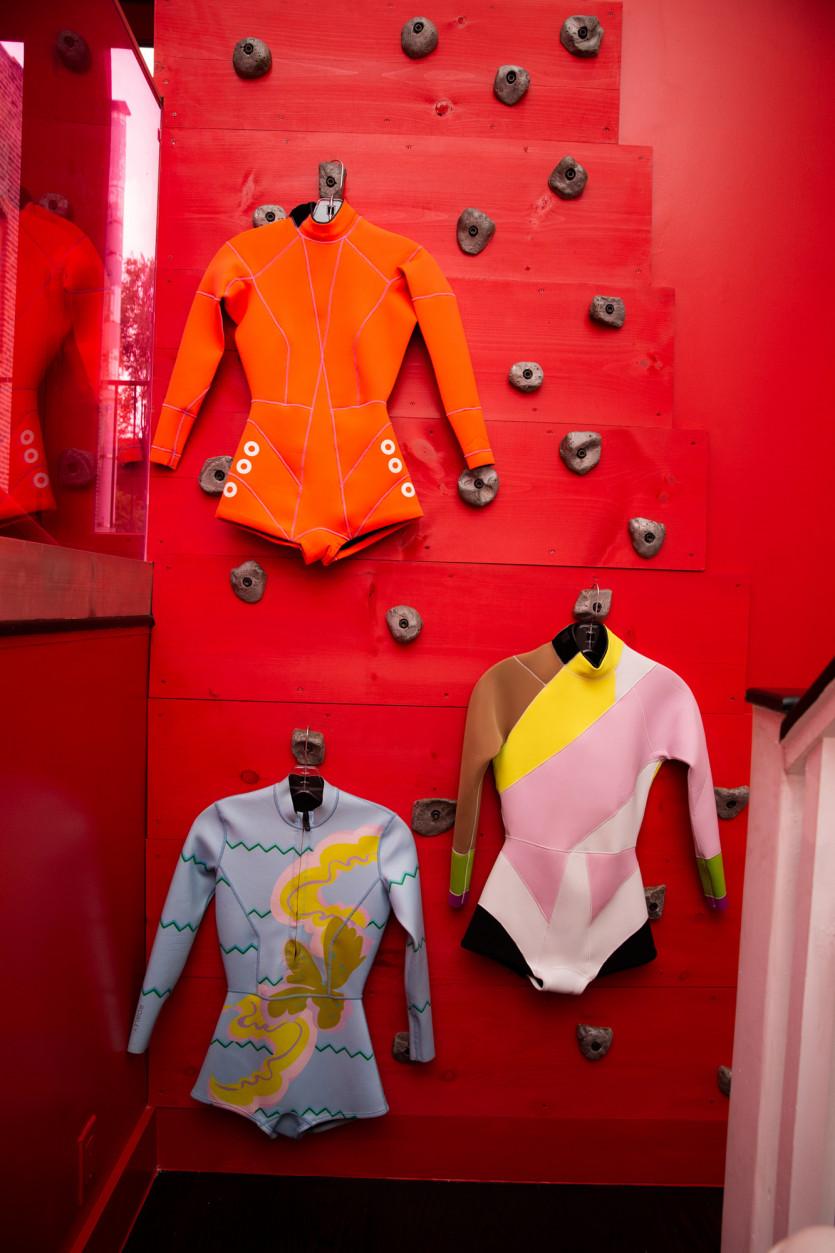 inside cynthia rowley closet