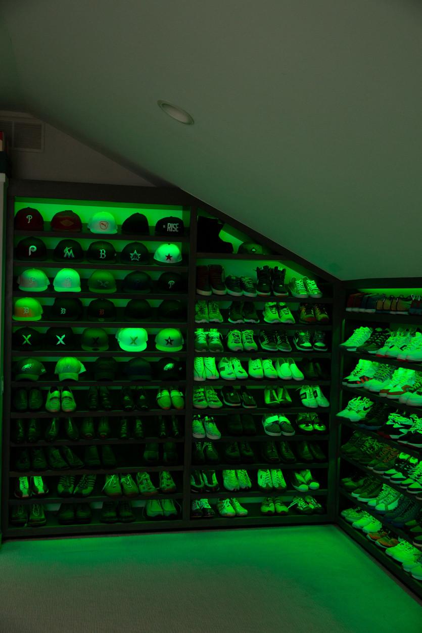 inside josh luber closet