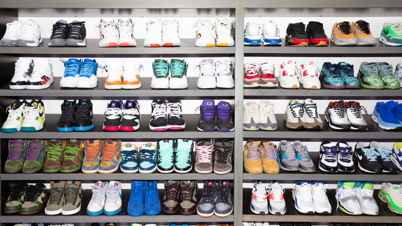 StockX's Co-Founder Josh Luber Spent Years Perfecting His Sneaker Closet