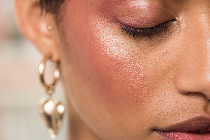 how to create bomb blush makeup look