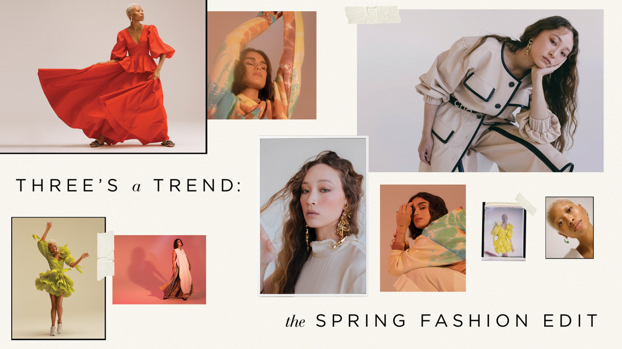 Three's a Trend: The Spring Fashion Edit