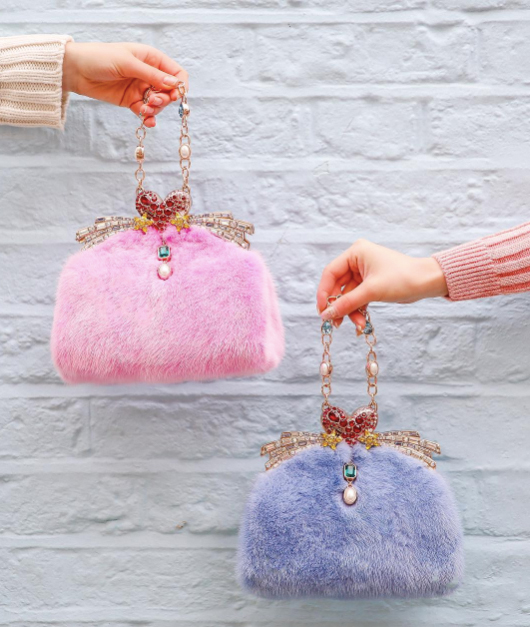 ming ray crystalized bags