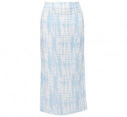 Penny Tie-Dye Jersey Midi Skirt by Staud