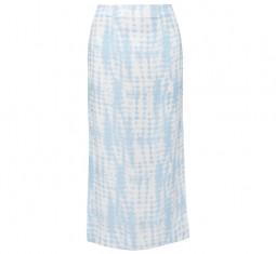 Penny Tie-Dye Jersey Midi Skirt by Staud