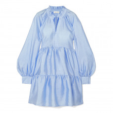stine goya jasmine crinkled taffeta mini dress