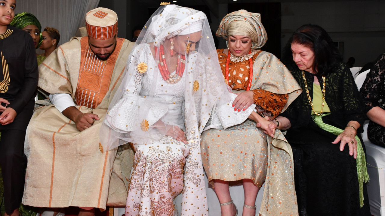 A Bride Who Had 2 Weddings to Celebrate Her Husband's Heritage