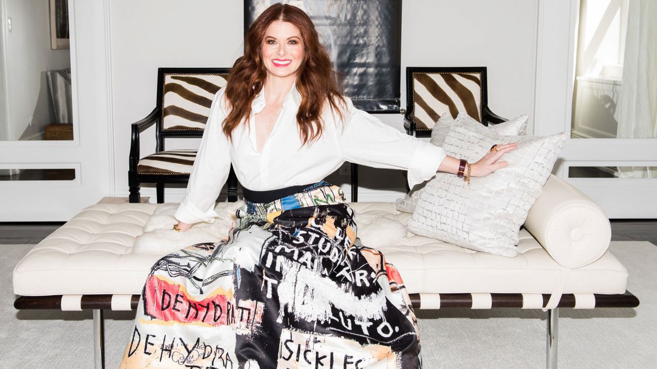 Debra Messing's Closet Takes a Few Cues from Will & Grace