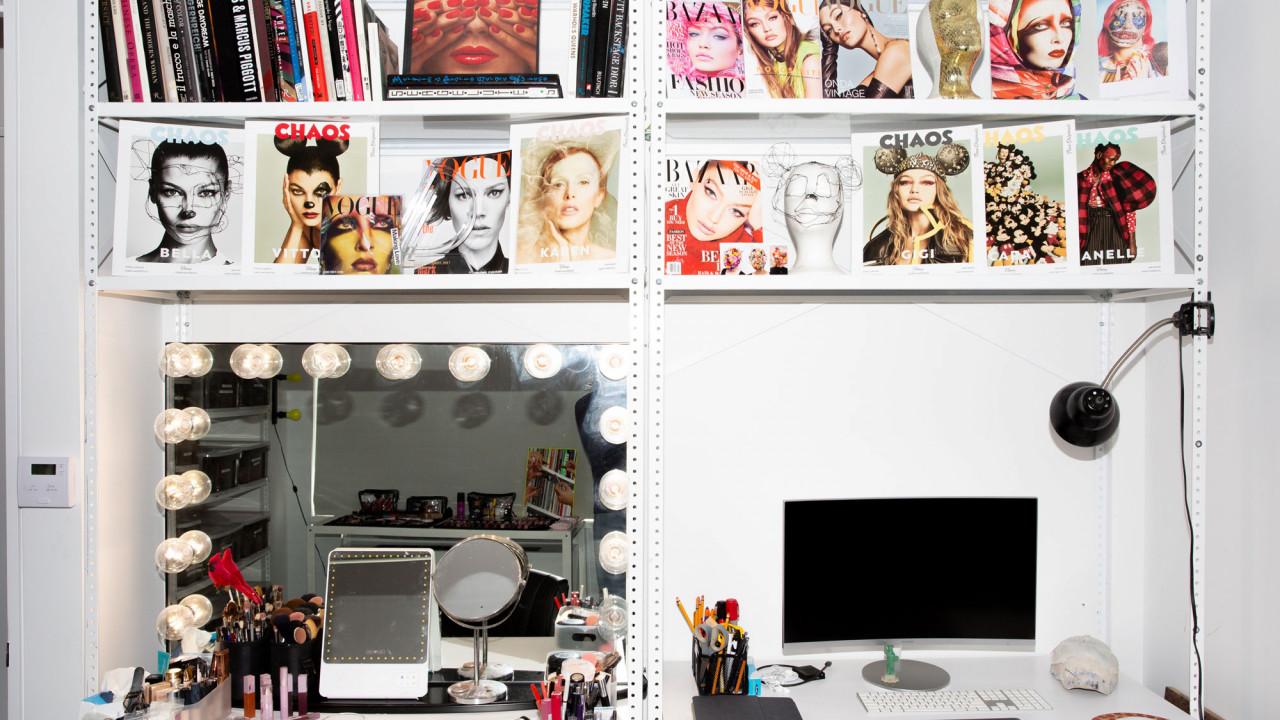 inside erin parsons beauty closet