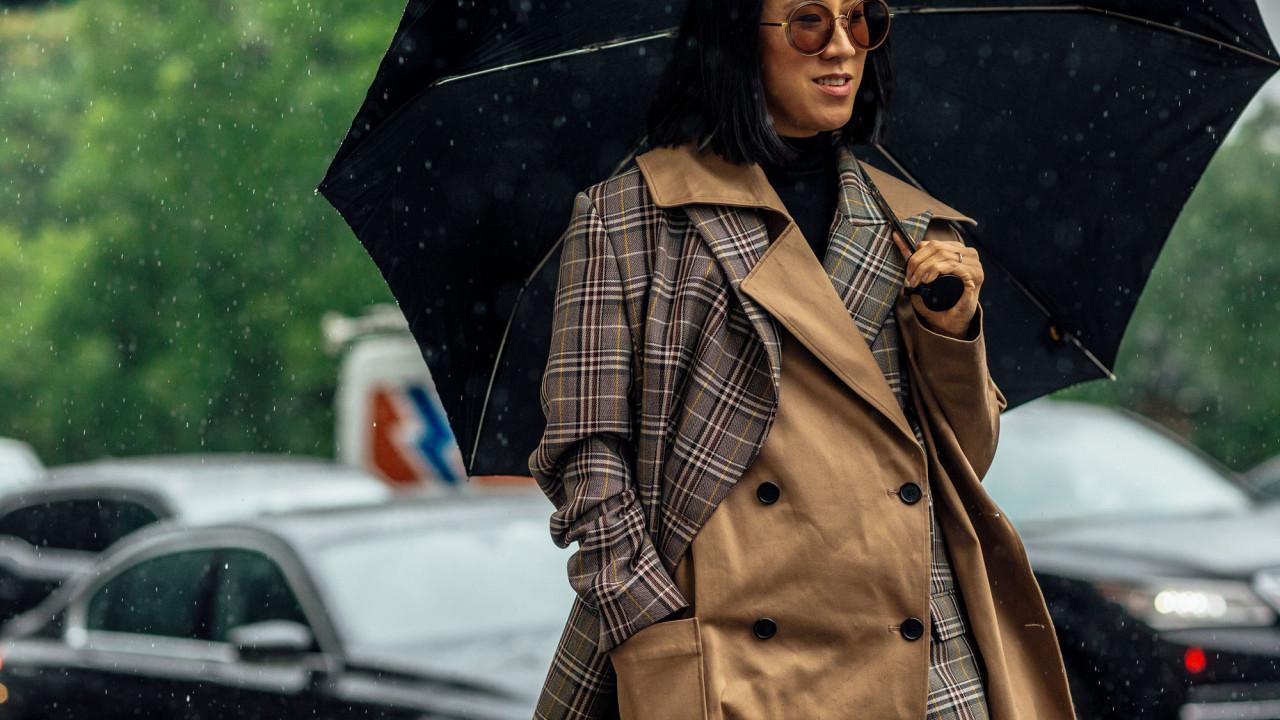 shop rain gear to get through downpour