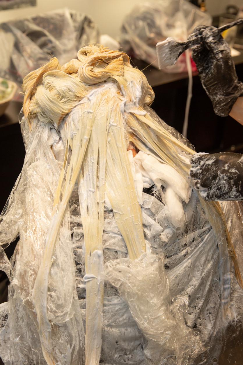 daenerys inspired platinum blonde hair transformation
